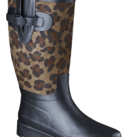 Womens Leopard Rain Boots for $25   Buy One Get One 50% Off