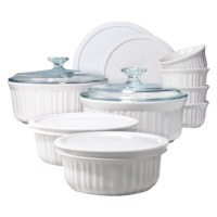 Corningware White Bake Set for $40 Shipped