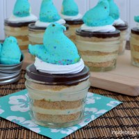 Peeps Eclair Cake Cups | Perfect For Easter