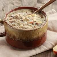 Chicken Wild Rice Soup | Freezer Friendly Meal
