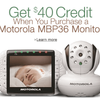 Motorola MBP36 Monitor For $239.97 Shipped + $40 Credit Back