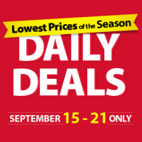 Lowest Prices of the Season at Michaels September 15-21 @Michaels