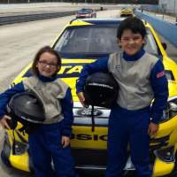 Richard Petty Driving Experience Junior Ride Along Review #JrRideAlong