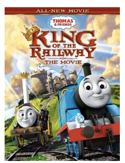 Thomas And Friends King of the Railway DVD