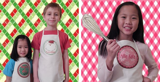 Personalized Kids Aprons