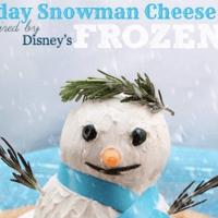 Snowman Cheese Ball as Inspired by Disney's Frozen #DISNEYFROZENEVENT