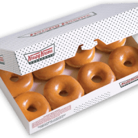 Krispy Kreme Coupon | Buy One Dozen Original Glazed Doughnuts Get One FREE