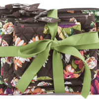 Vera Bradley Cosmetic Trio for $19.90!