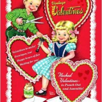 Vintage Valentines Press Out Book For $4.99 Shipped