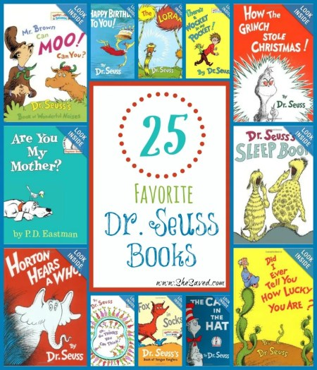 25 Favorite Dr. Seuss Books