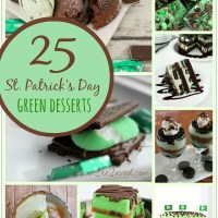 25 St. Patrick's Day Green Desserts