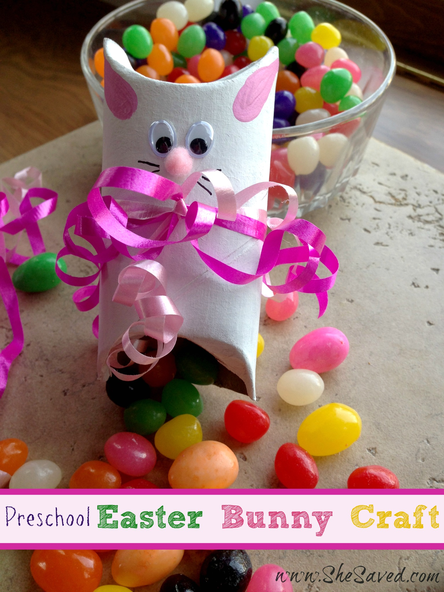 Preschool Easter Bunny Crafts