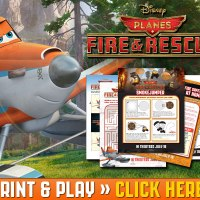 PLANES: FIRE AND RESCUE FREE Activity Sheets