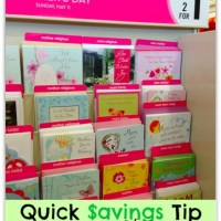 She Saved Quick Savings Tip: Greeting Cards on the Cheap!