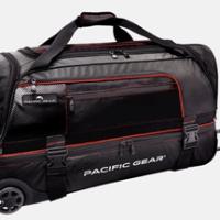 Pacific Gear Drop Zone Rolling Duffel For $57.99