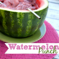 Watermelon Punch Recipe