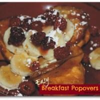 Easy Breakfast Popovers Recipe