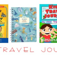 Kid's Travel Journals Perfect For Summer Travel