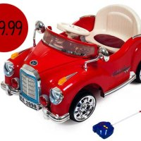 Lil' Rider Cruisin' Coupe Classic Car For $99.99