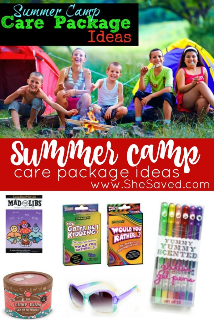 Here are some fun Summer Camp Care Package Ideas that will be fun to send them kids while they are away at camp this summer!