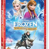 Disney FROZEN Sing-Along Edition on DVD