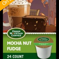 Green Mountain Mocha Nut Fudge K-cups 24 Count For $11.99