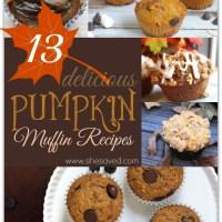 13 Delicious Pumpkin Muffin Recipes