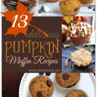 13 Delicious Pumpkin Muffin Recipes