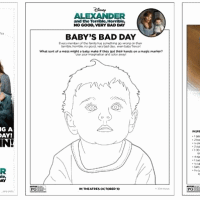 Alexander and the Terrible, Horrible, No Good, Very Bad Day Free Printables!
