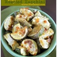 Easy Roasted Zucchini Recipe