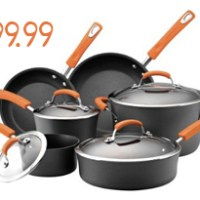 Rachael Ray Cookware Set For $99.99 Shipped
