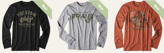 Life Is Good Thanks To The Brave Collection