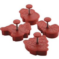 Cake Boss Christmas Fondant Press Set For $9.99 Shipped