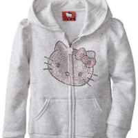 Hello Kitty Girls Fleece Hoodie For $16.20 Shipped
