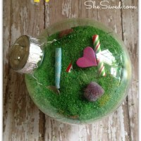 Easy Christmas Craft: I Spy Ornament