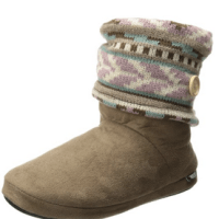 Muk Luks Women's Legwarmer Slipper Bootie For $18.99 Shipped