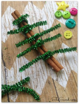 Pipe Cleaner Tree Craft