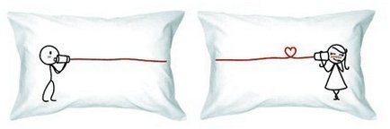 I Love You Couple Pillowcases