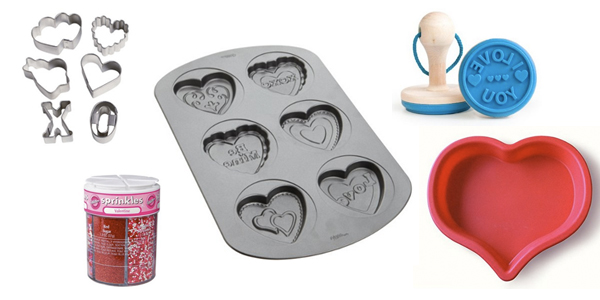 Valentine's Day Baking Tools