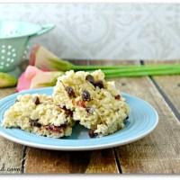 Easy Chocolate Cherry Rice Krispie Treats Recipe