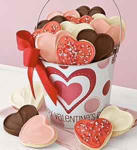 Valentine's Day Cookie Pail