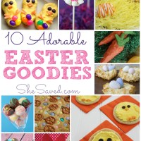 10 Easter Treats to Make with Kids!