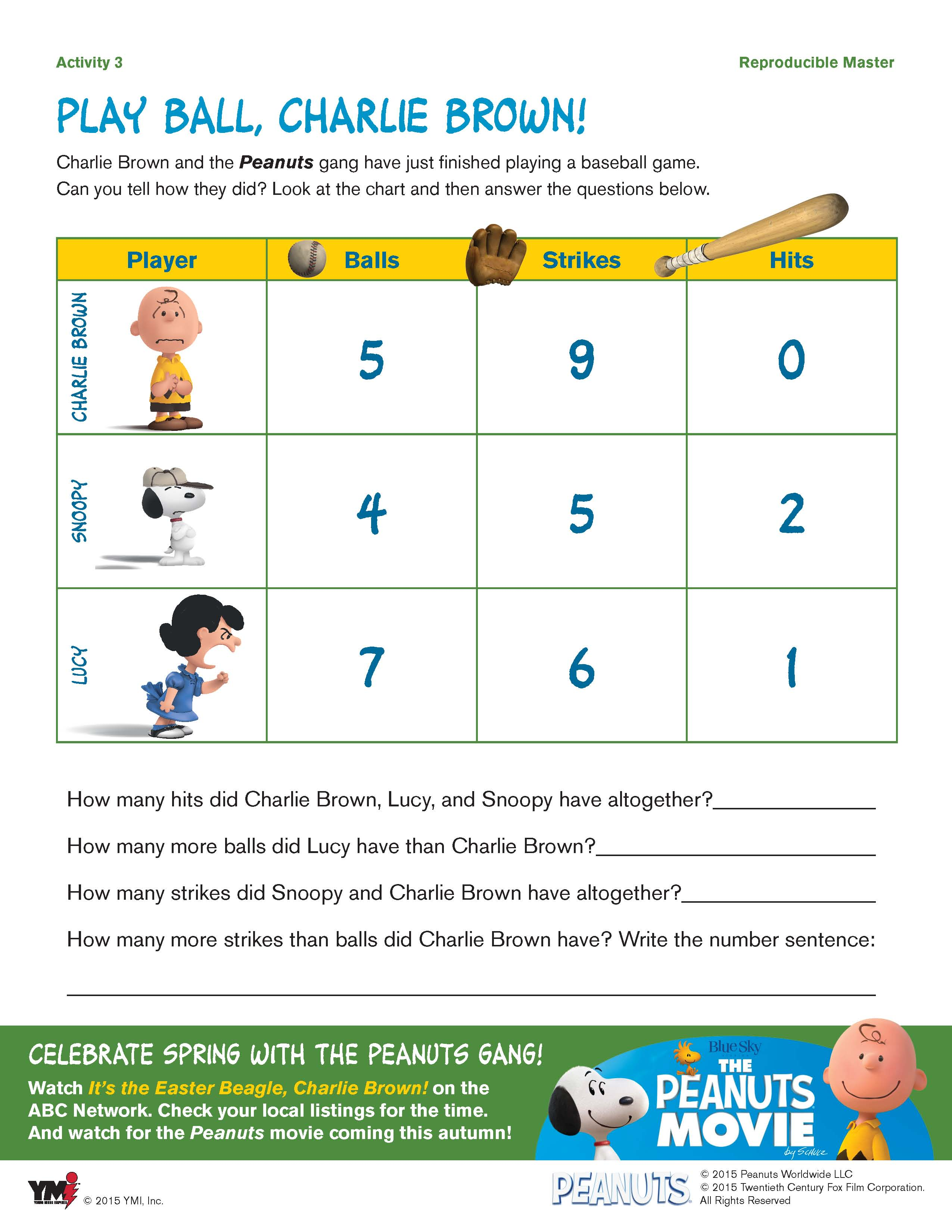 Ball Games Worksheet