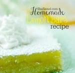 Easy Homemade Lemon Bars Recipe
