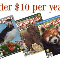 RARE! Ranger Rick Magazine: Under $10 per Year!