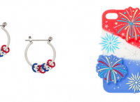 Claire's Jewelry Buy 2 Get 1 Free + FREE Stars And Stripes Metallic Tattoos