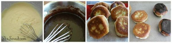 Make sure to pin this Easy Boston Cream Donut recipe for the next time that your family craves a sweet (and easy!) breakfast treat!