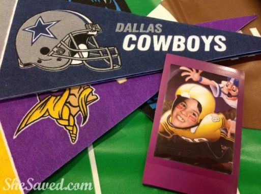 Use a polaroid camera along with a photo prop cutout for fun party favors for the kids to take home!