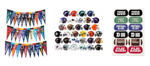 Football party favors are a fun way to make your football gathering even funner! Here are a few of our favorites!