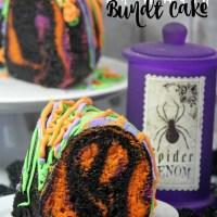 Halloween Dessert: Spooky Bundt Cake
